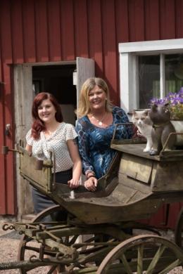 Susanne Hellman Holmström och Sarah J Hellman Fotograf Andreas Paulsson
